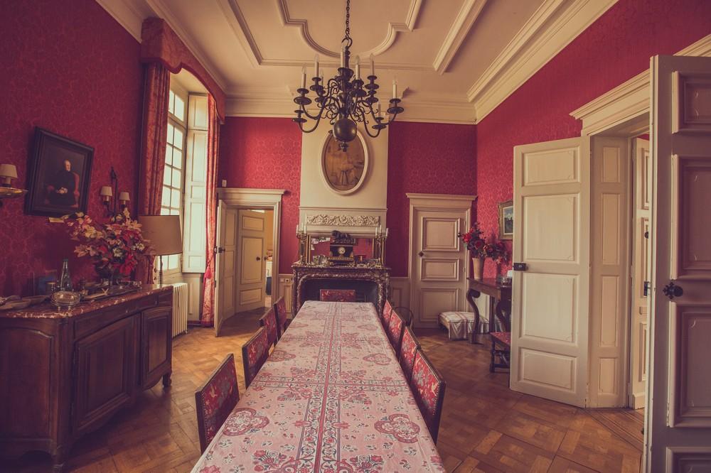 Dining room - Château de Guiry