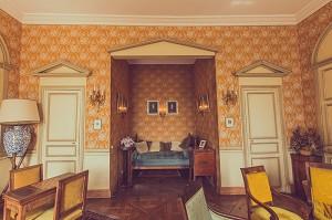 Pequeño salón - Château de Guiry