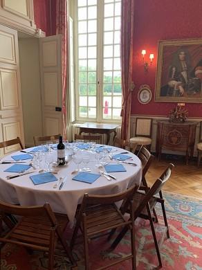 Château de guiry - living room