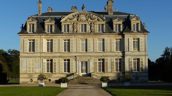 Chateau de Guiry - fachada del castillo