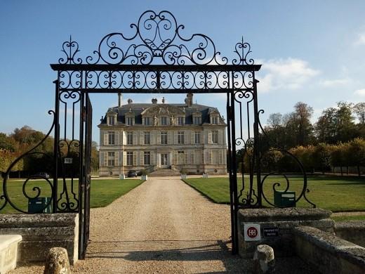 Château de guiry - reception