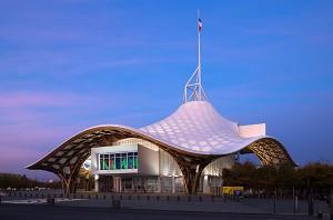 Center Pompidou-Metz - Exterior