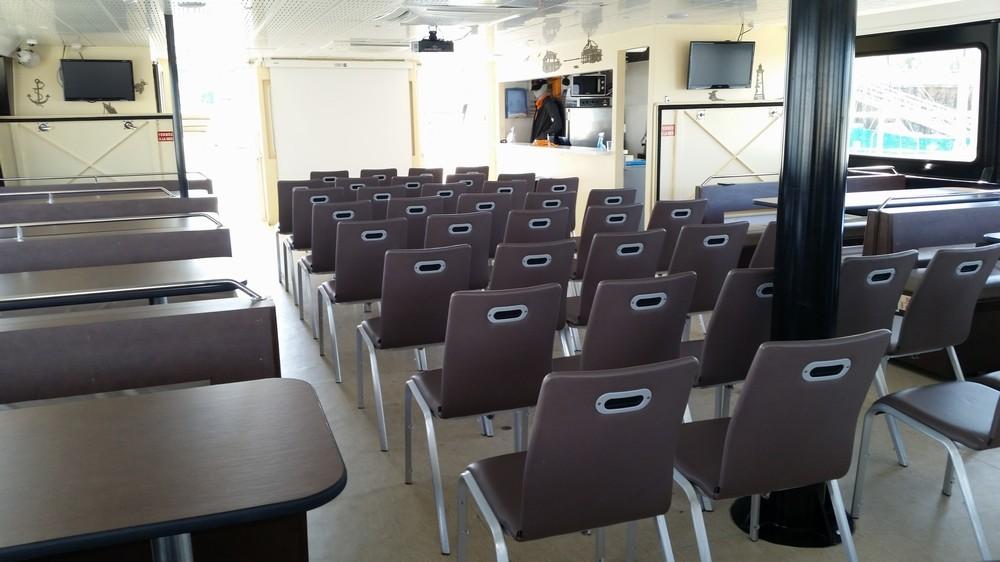 The Silver Coast - sala de seminarios