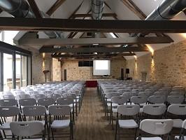 La Ferme Intention - Plenary meeting 170 people