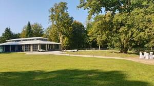 Chateau de Bourguignon - Garden