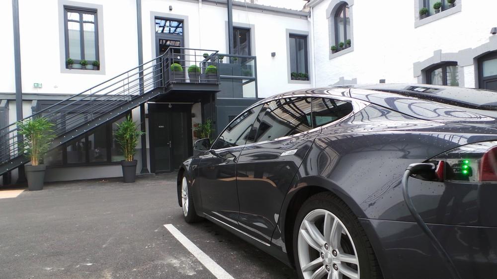Nouvel hôtel - parking