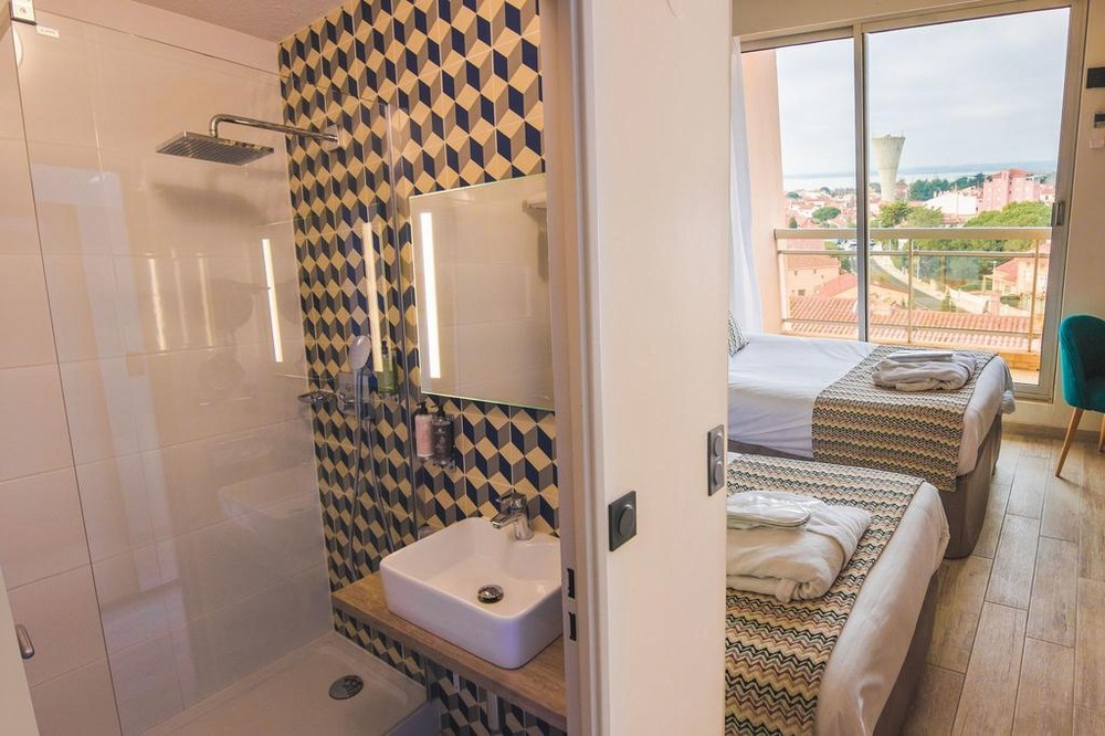 Best western hotel canet-plage - chambre double