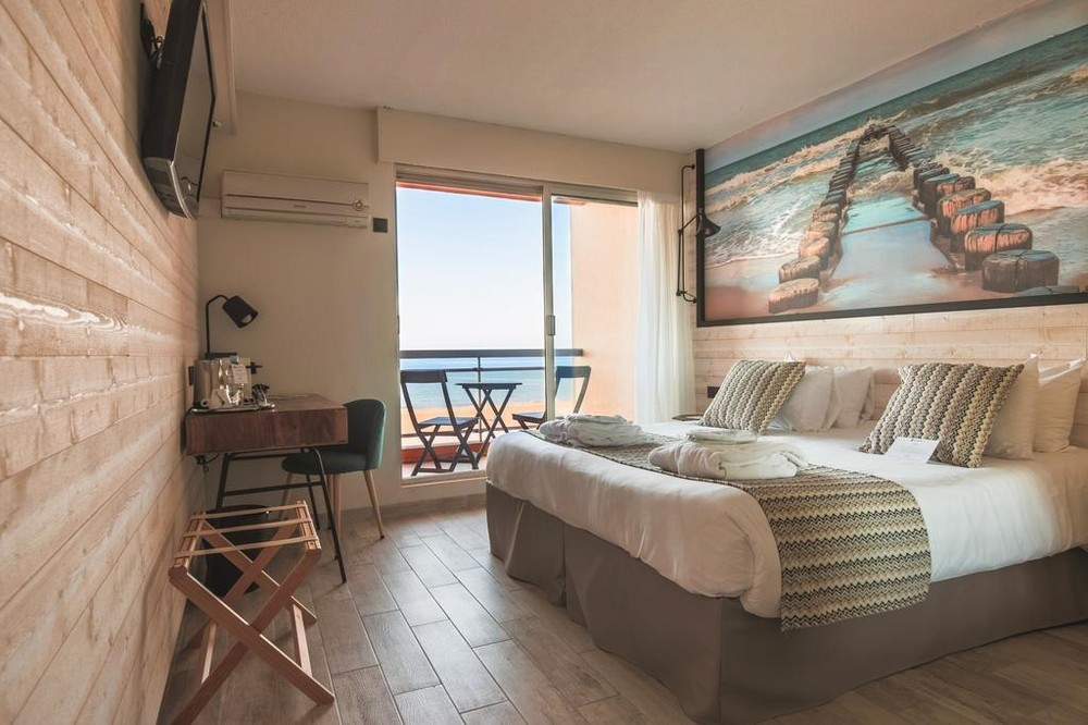 Best western hotel canet-plage - chambre