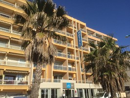 Best Western Hotel Canet-Plage - Hotel Front