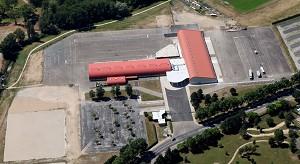 Parc Moulins Expo - Vista del cielo