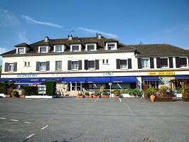 Relais de la Route Bleue - Fassade
