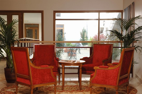 Amiral hotel - reception