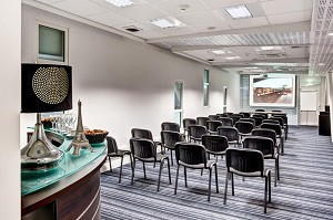 Biarritz Airport Business Center - Basque Country - Paris room in theater configuration