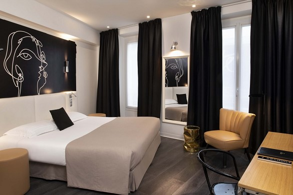 Hotel montparnasse saint germain - superior double room