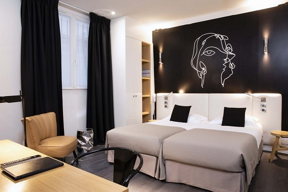 Hotel montparnasse saint germain - pmr room