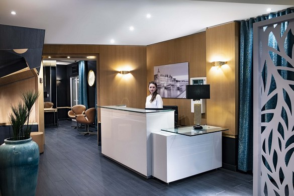 Hotel montparnasse saint germain - reception