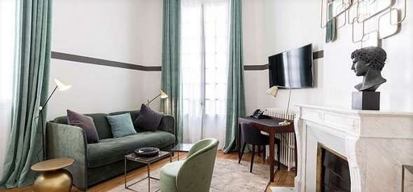 Sourire de passy - small living room