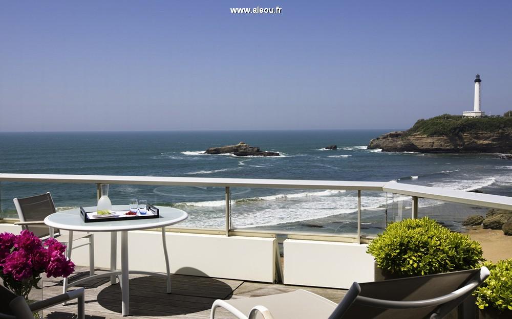 La terrazza di una suite di sofitel biarritz © fabrice rambert_7812