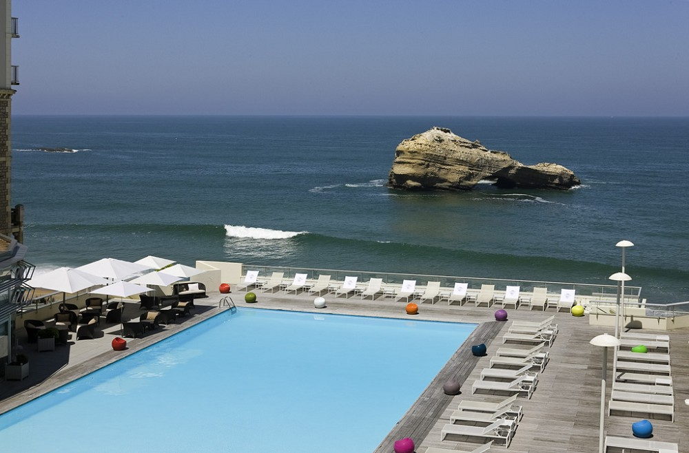 Sofitel Biarritz Miramar Thalassa Sea and Spa - Piscina
