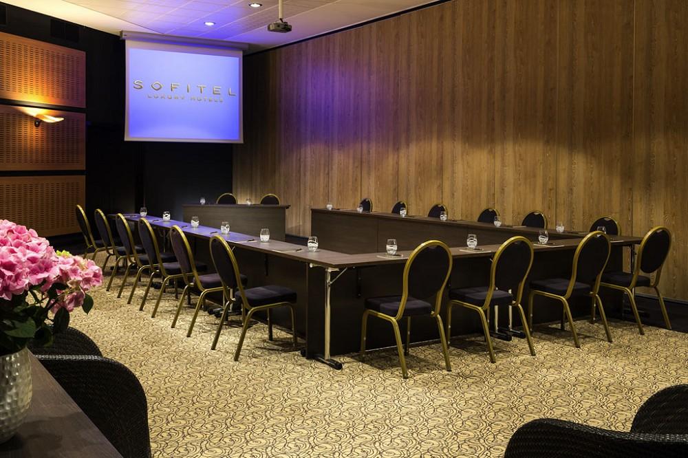 Sofitel Biarritz Miramar Thalassa Sea and Spa - sala de reuniones