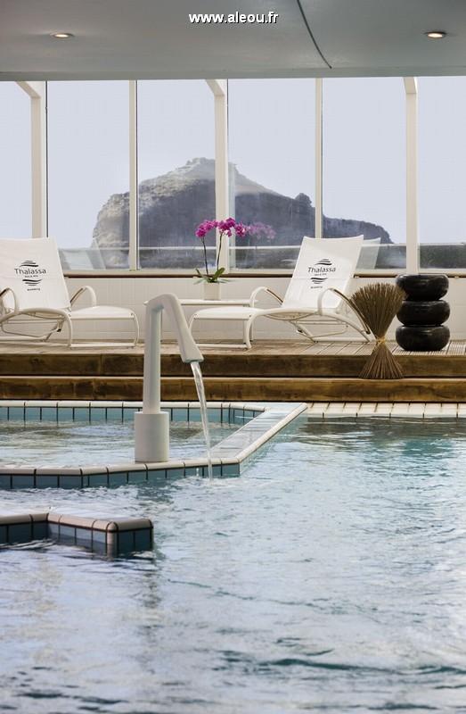 Sofitel Biarritz miramar thalassa sea and spa - piscina cubierta