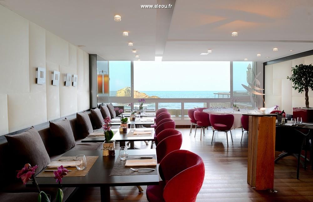 Sofitel Biarritz Miramar Thalassa Sea and Spa - restaurante