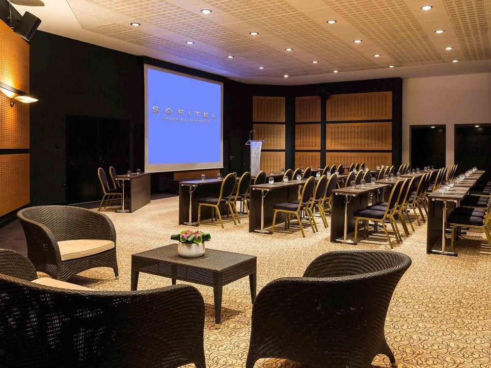 Sofitel Biarritz miramar thalassa sea and spa - sala de seminarios