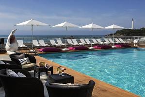 Sofitel Biarritz Miramar Thalassa sea & spa - piscina Sofitel Biarritz