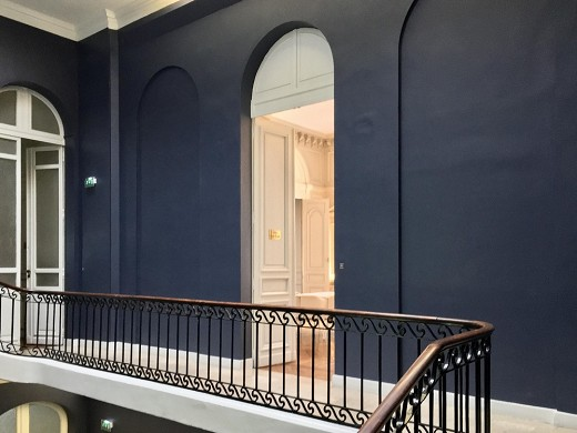 Fenwick Hotel - the newly renovated stairwell