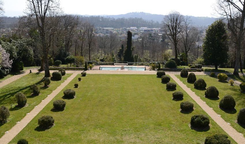 Villa Navarre - park