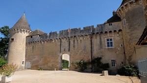 Château de Rully - Facade