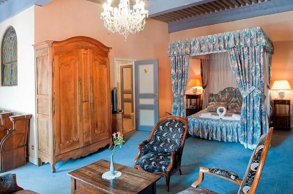 Château des herbesys - Schlafzimmer