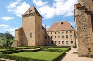 Castillo de Pierreclos - Exterior