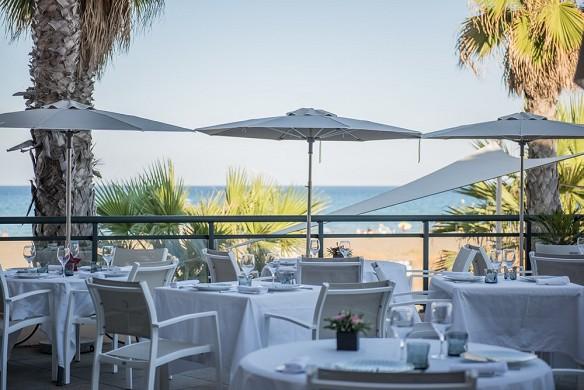Grand hotel les flamants rose e spa - terrazza - ristorante Horizon