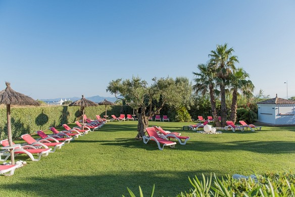 Grand hotel fenicotteri e spa - giardino