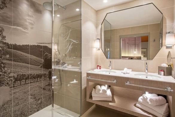 Hotel les sept fontaines - bathroom - comfort room