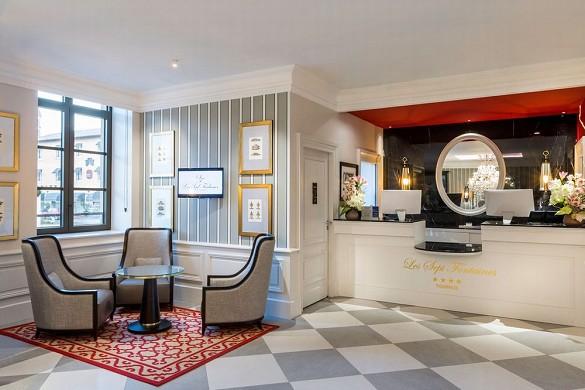 Hotel les sept fontaines - Rezeption