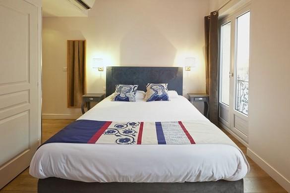 Hotel st sernin - habitación