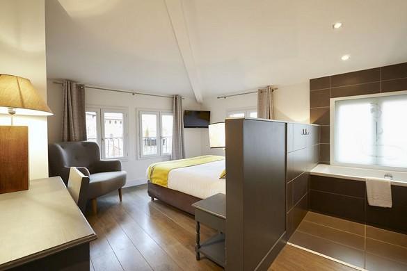 Hotel st sernin - alojamiento