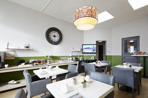 Hotel st sernin - sala de desayunos