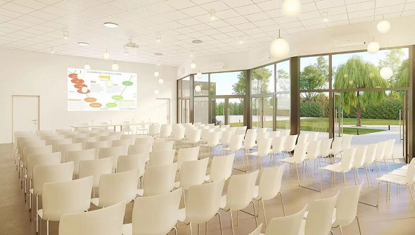The spacer - seminar room