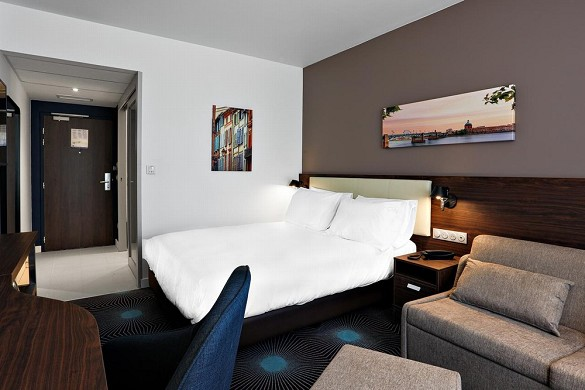 Hampton by hilton toulouse airport - chambre