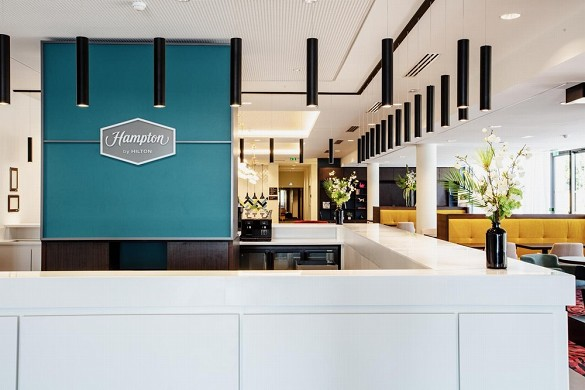 Hampton by hilton toulouse airport - réception