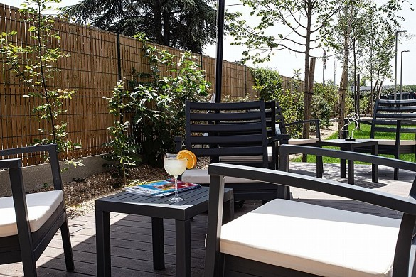 Hampton by hilton toulouse airport - terrasse