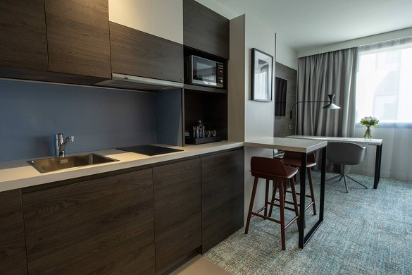 Residence inn by marriott toulouse-blagnac airport - cuisine