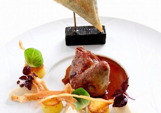 Château blanchard - assiette