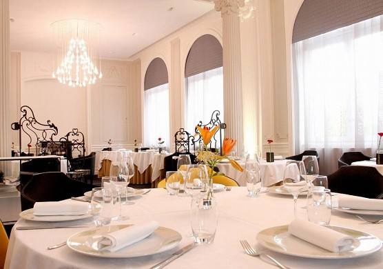 Château blanchard - tables