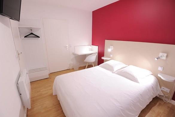 Vulcan hotel - habitación roja