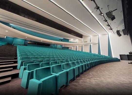 Centro de convenciones mediterráneo Cap d'Agde - auditorio