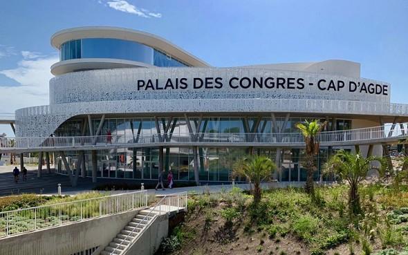 Palais des Congrès cap d'agde méditérranée - lugar de conferencias en el hérault